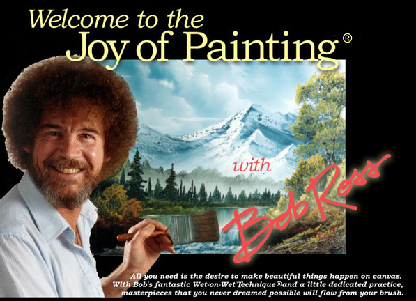 ��� ���� ����� ������� �������� / Bob Ross Joy of painting