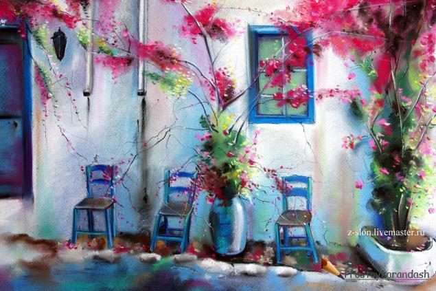 Мастер класс по рисованию пастелью