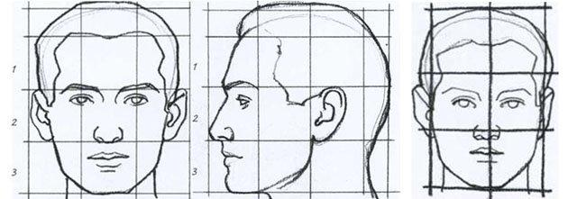 Как нарисовать портрет для начинающих поэтапно карандашом