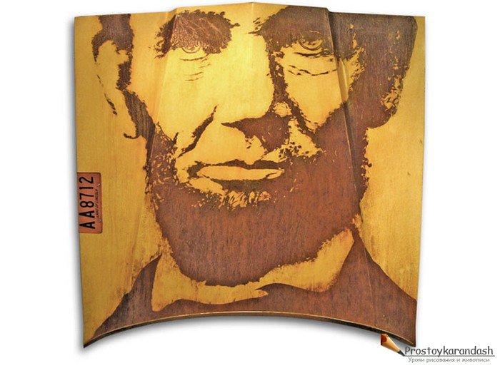 Основа для портрета авраама линкольна