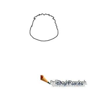 Как нарисовать лунтика карандашом
