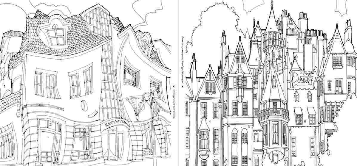 Лучшие любовные, как сделать из картинку раскраску архитектура